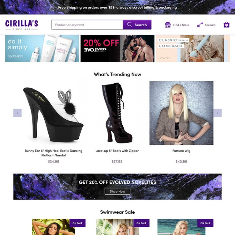 Cirillas Website